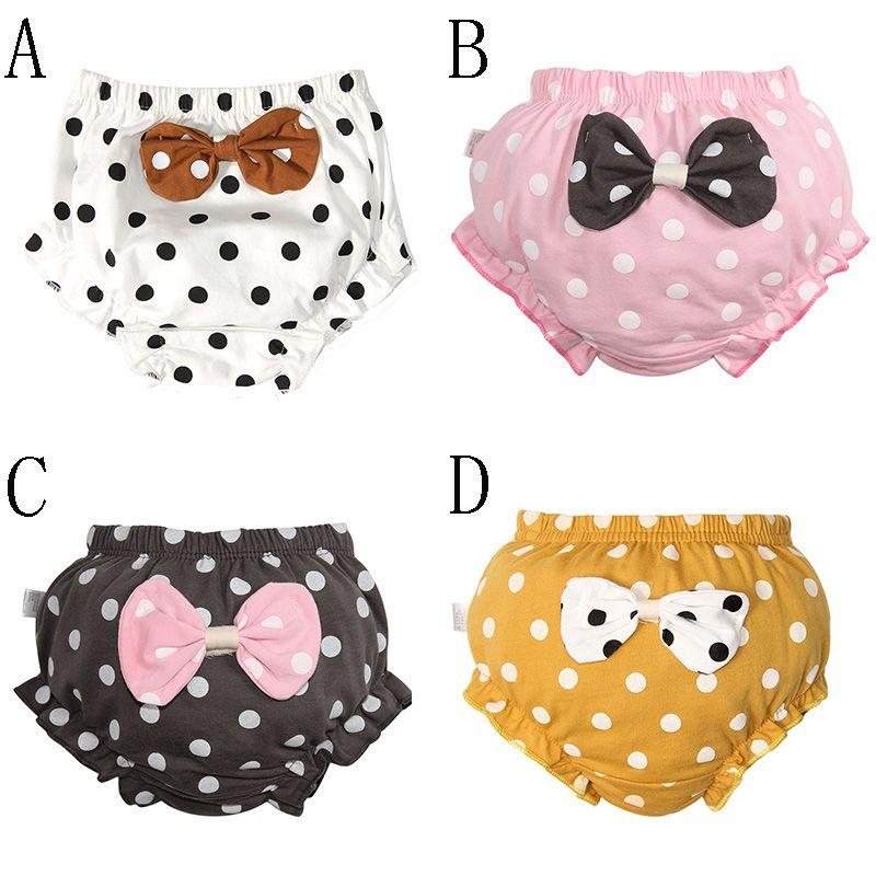 Pure Cute Baby Training Nappy Diaper Children Cotton Cloth Washable Nappies Diapers 0-4Y Reusable Infants Baby Panties