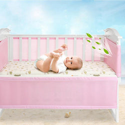 3D Baby Crib Bumper Breathable Mesh Infant Cot Bumper,children Bumper Crib Liner Baby Cot Sets Bed Around Protector