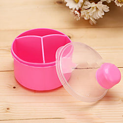 1Pcs  Baby Kids Toddler Food Containers Storage Baby Feeding Box Portable Milk Powder Formula Dispenser