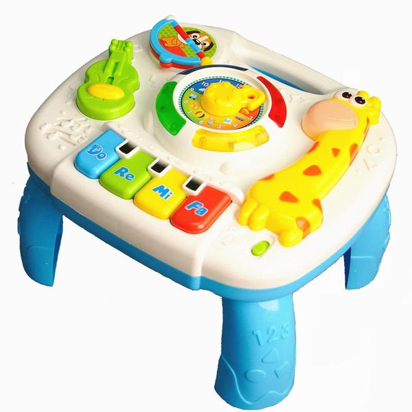 Baby Toys 13-24 Months Musical Games Table Educational M Toys For Baby Brinquedos Para Bebe Oyuncak Baby Boy Toys