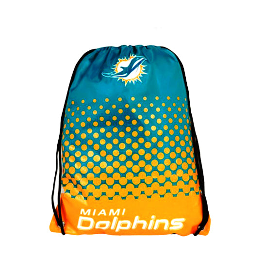 Miami Dolphins Official Drawstring Bag
