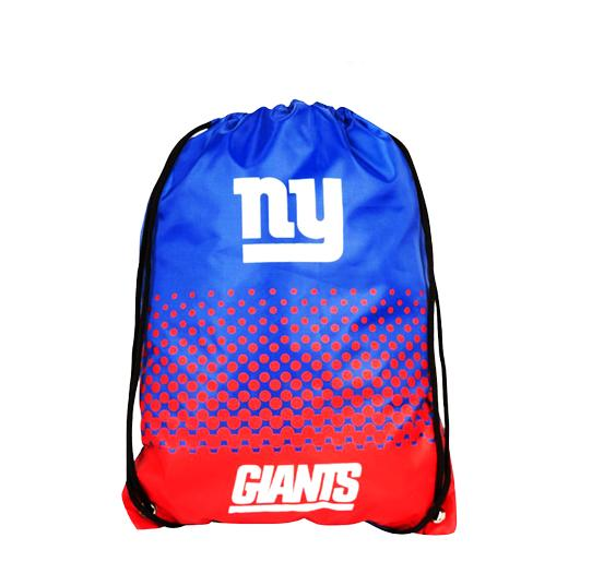 Official New York Giants Drawstring Sports Bag
