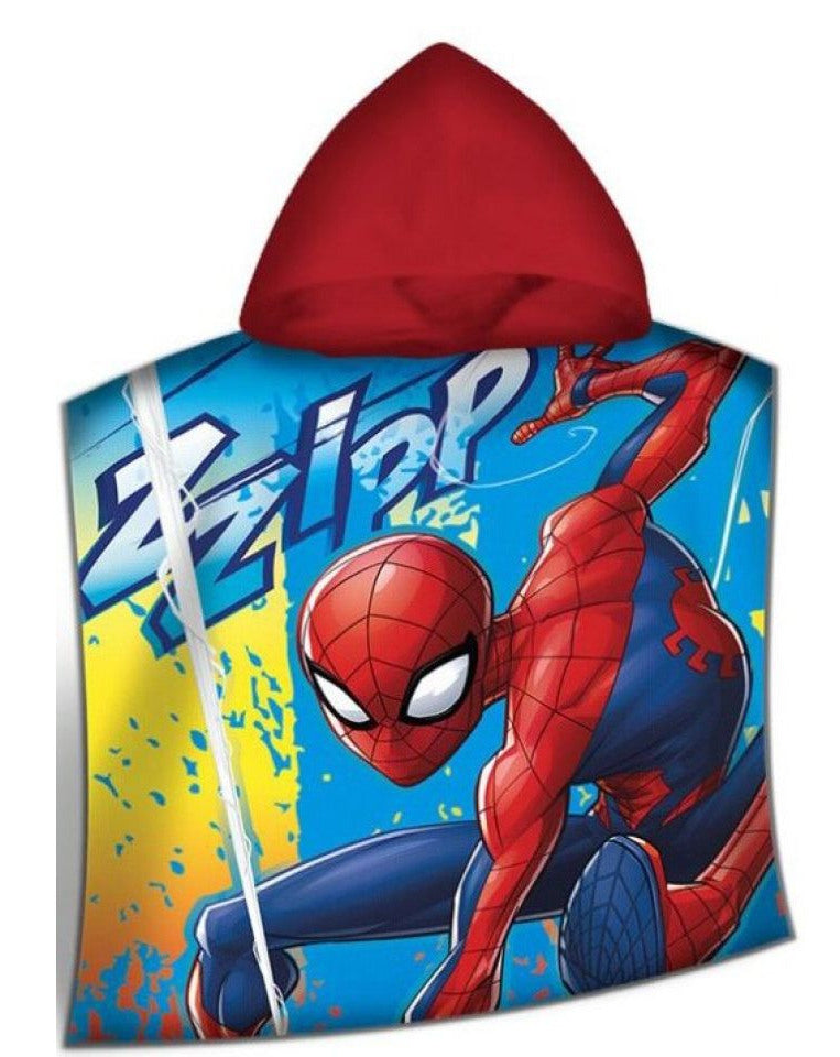 Official Marvel Spider-man Towel Poncho Towel