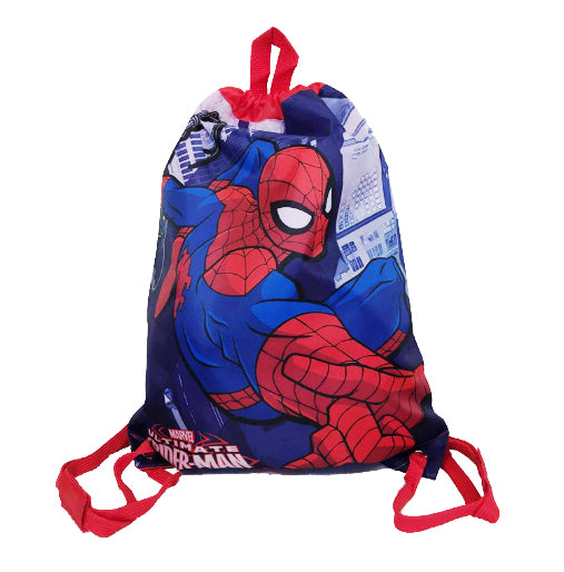 Spider-Man Drawstring Bag Backpack