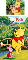 Winnie the Pooh Child's Single Duvet Cover Set