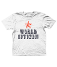 Bojest kid's t-shirt 'World Citizen' in white
