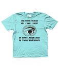 Bojest kid's t-shirt 'Vision' on light blue