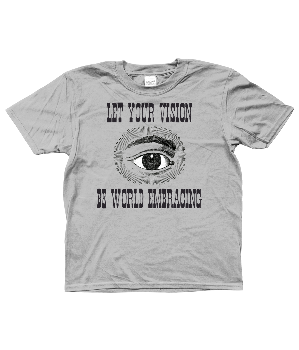 Bojest kid's t-shirt 'Vision' in Grey