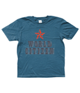 Bojest kid's t-shirt 'World Citizen' in indigo