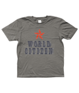 Bojest kid's t-shirt 'World Citizen' in charcoal