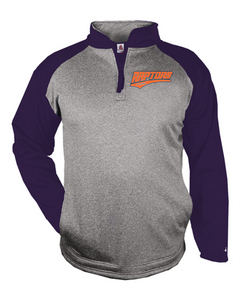 Coaches 1/4 Zip-001 (Raptors Orange or Navy)