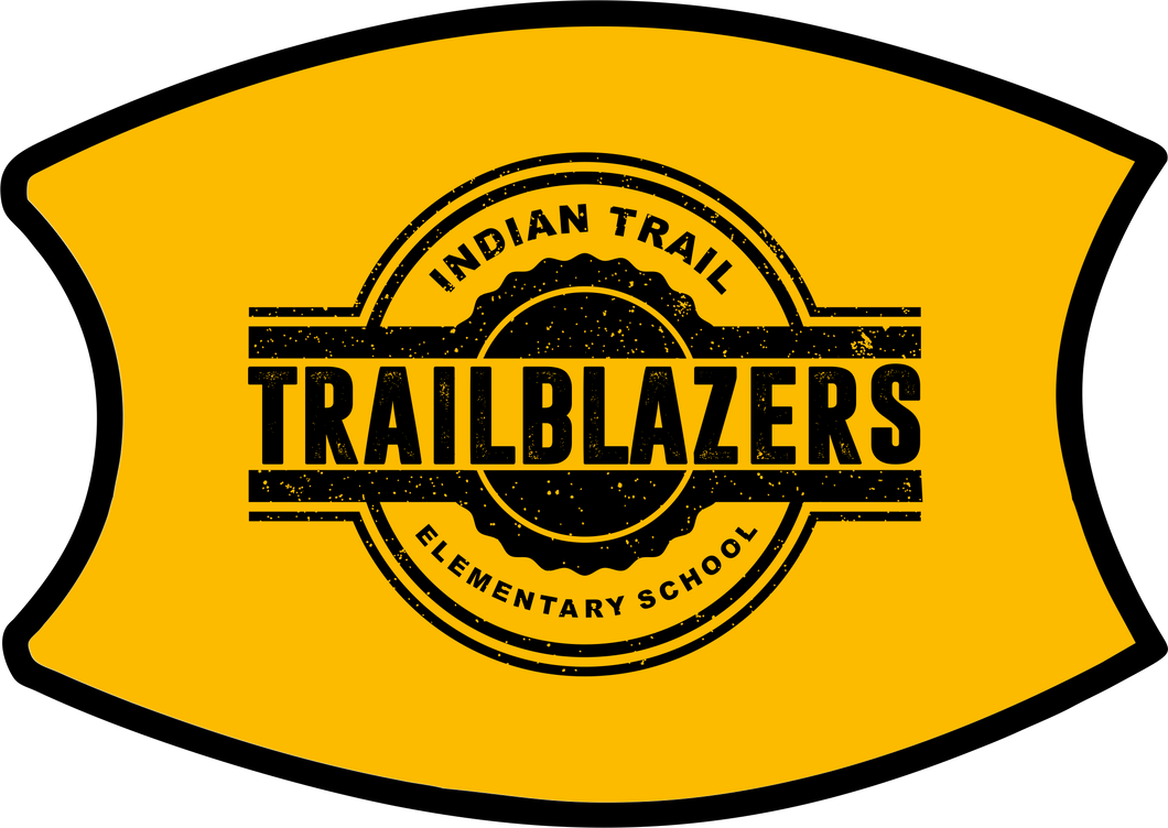 IT Trailblazers Face Mask - Yellow