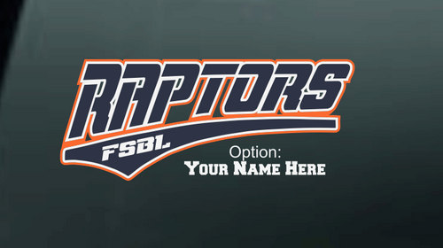 Raptors Car Decal-001