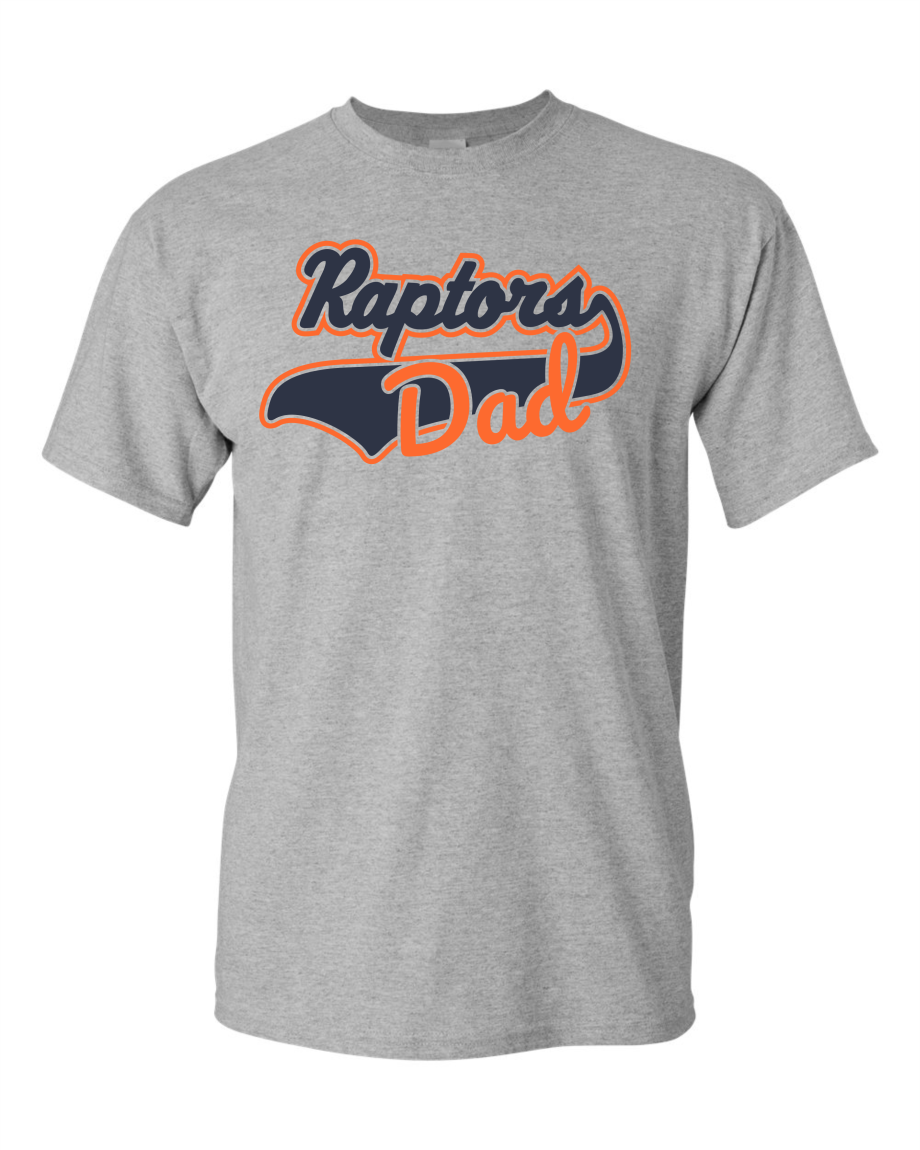 Raptors Fathers Day Tee-001