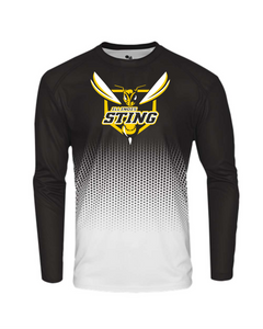 Sting Hex Long Sleeve Performance T-shirt
