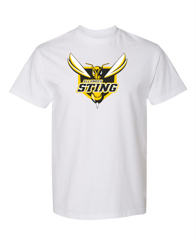 Sting Short Sleeve T-shirt in White