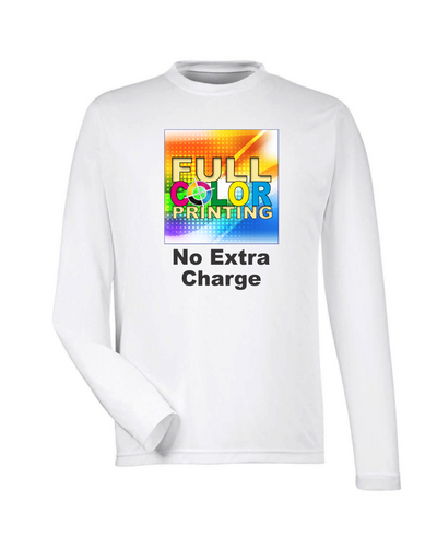 Sublimation Performance Long Sleeve Shirt