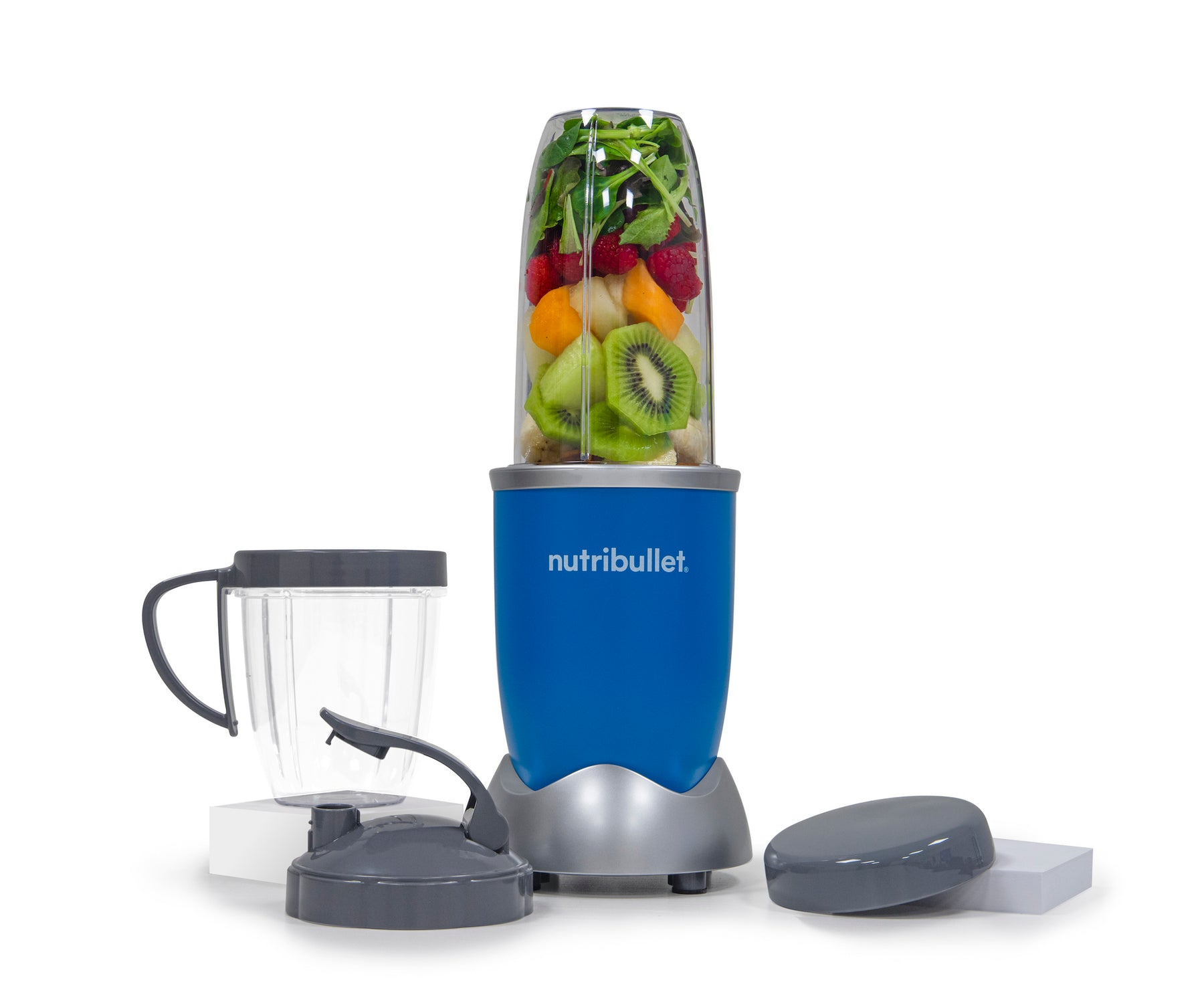 NutriBullet PRO 900W (Royal Blue, 7-delar, Mixer/Blender)