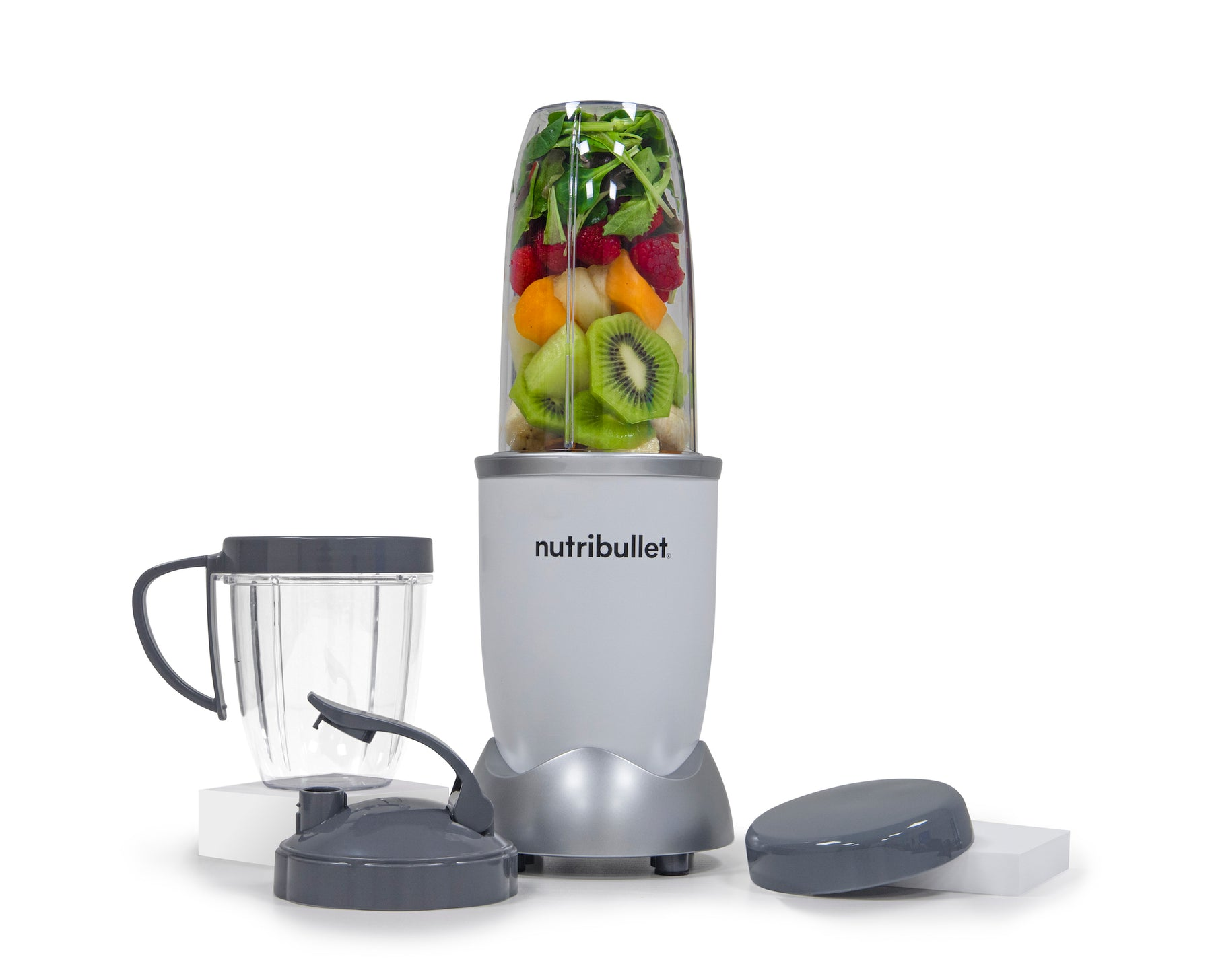 NutriBullet PRO 900W (Snow White, 9-delar, Mixer/Blender)