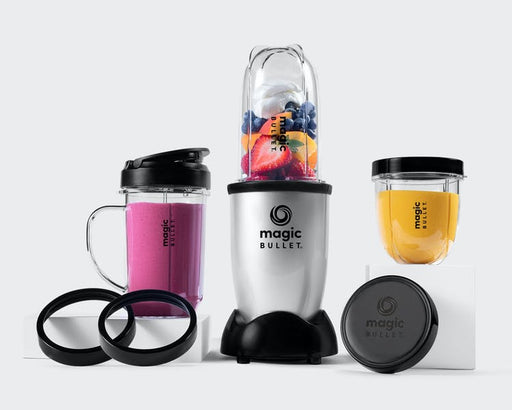 Magic Bullet (Silver, 10-delar, Mixer/Blender)