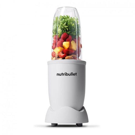 NutriBullet PRO 900W Exclusive (All White, 10-delar, Mixer/Blender)