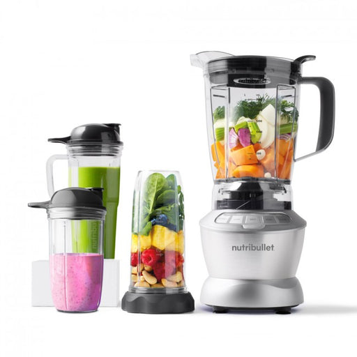 NutriBullet Blender Combo 1200W (Grey, 10-delar, Mixer/Blender)