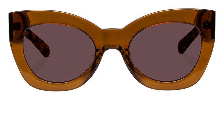 Karen Walker Northern Lights - Tan/Crazy Tortoise