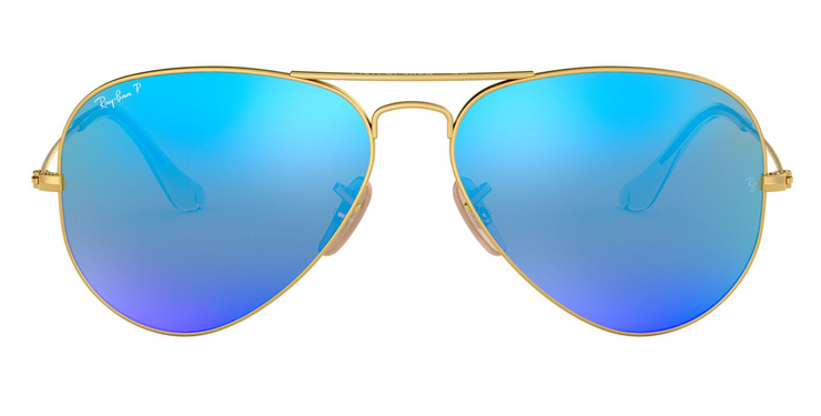 Ray-Ban Original Aviator - Blue Polarized