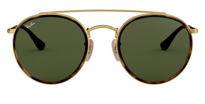 Ray-Ban Round Double Bridge - Grey