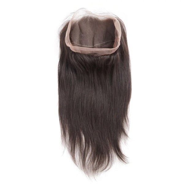 360 Lace Frontal Brazilian Hair Natural Straight