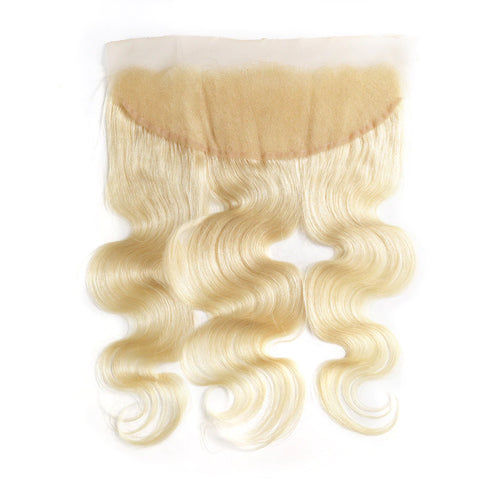 Lace frontal Blonde color #613 body wave 13*4inch