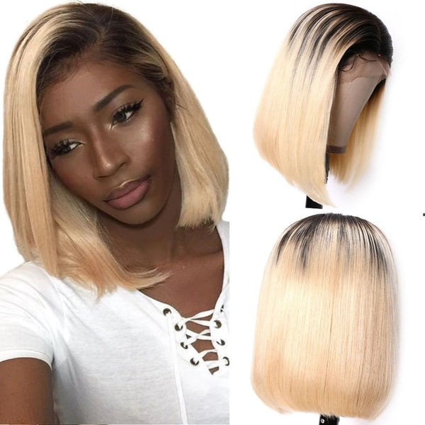 1B/613 Blonde Lace Wig Virgin Human Hair