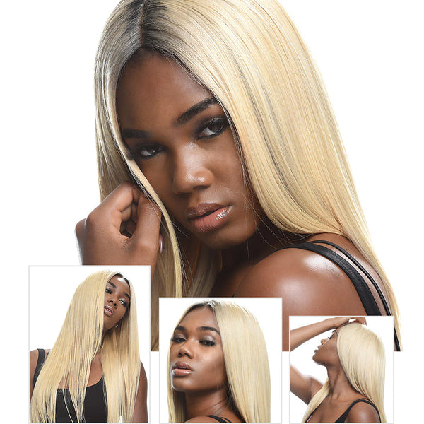 Human Virgin Blonde Hair #613 Natural Straight