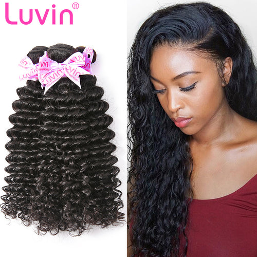 100% Human Remy Hair Natural Deep curly