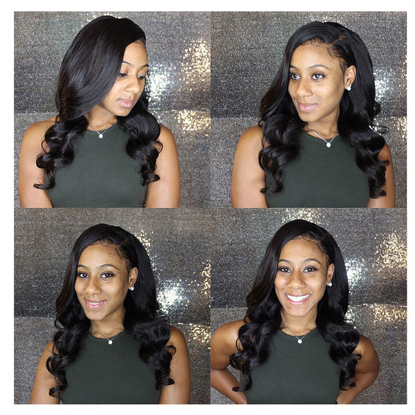 7A Brazilian Virgin Human Hair Loose wave