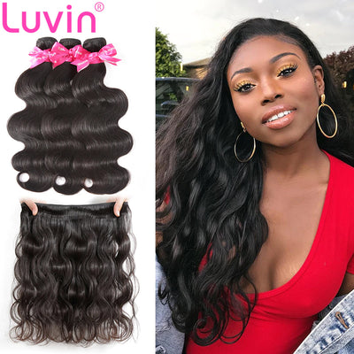 100% Human Virgin Hair Natural Body wave