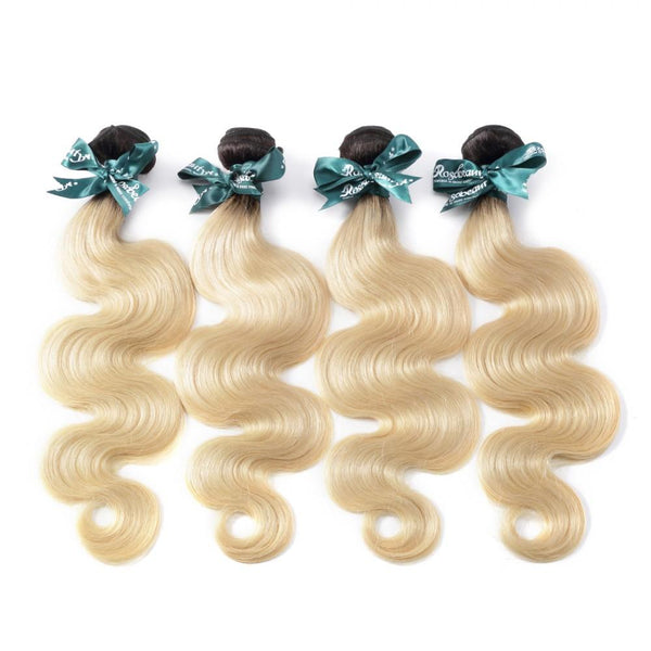 8A #T1B/613  Body Wave Hair Bundles 1:9