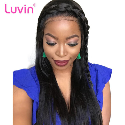 Pre bleached knots best virgin human hair full lace wig straight
