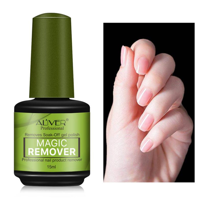 15ml Unloading Nail Glue Top Coat Gel Soak-Off Nail Polish Remover - GEEKMANN✓