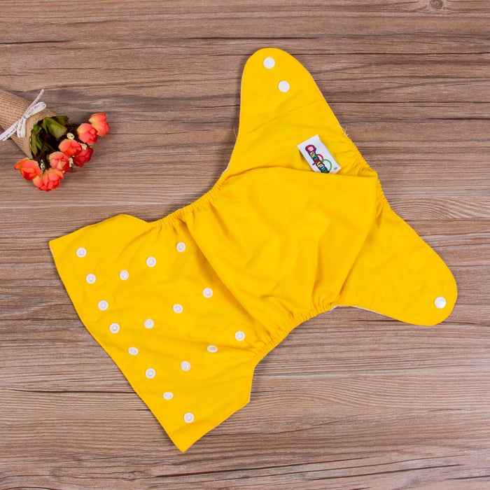 1PC Adjustable Reusable Baby Boys Girls Cloth Diapers Soft Covers - GEEKMANN✓