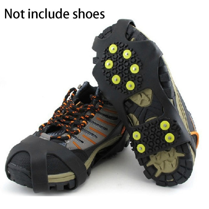 Shoes Cover Crampons Silicone Climbing Non-Slip Shoe Grip - GEEKMANN✓