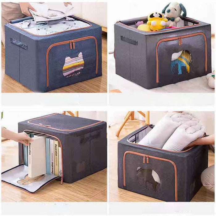 22L/66L Folding Storage Box Dirty Clothes Collecting - GEEKMANN✓