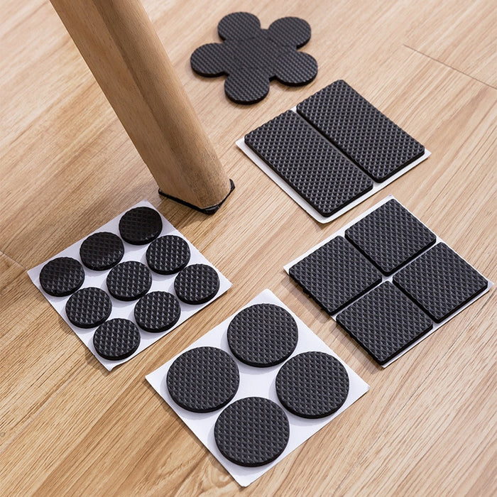 Chair Leg Pads Floor Protectors for Furniture Legs Table - GEEKMANN✓