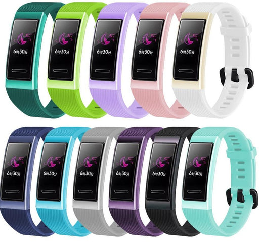 Soft Silicone Strap For Huawei Band 3 / 3 pro Smart Wristband - GEEKMANN✓