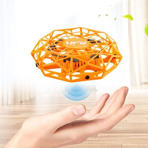 UFO LED Magic Hand RC Drone Sensing Remote Control Helicopter - GEEKMANN✓