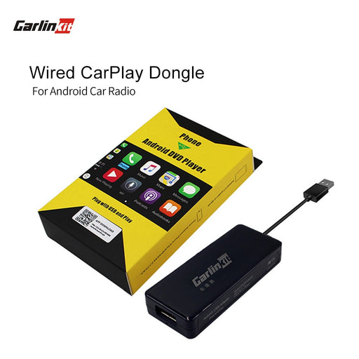 Car Tv Carlinkit USB Car Link Dongle for Android Car Navigation - GEEKMANN✓