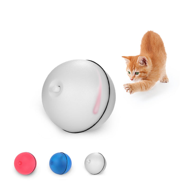 Cat Rolling Ball Dog Toys LED Red Light Motion Electric motion - GEEKMANN✓