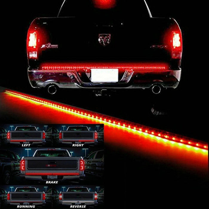 Redline Triple Tailgate LED Tailgate Strip Light car led - GEEKMANN✓