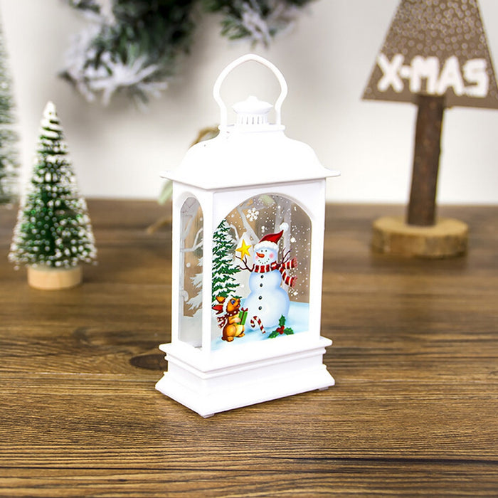 Creative LED Light Mini Wood House Christmas Tree Hanging - GEEKMANN✓