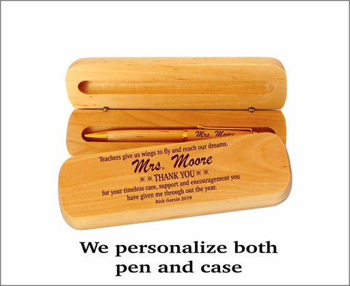 Customize Wooden Pen Gift for Dad father's day - GEEKMANN✓